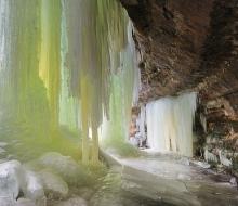 eben Ice cave