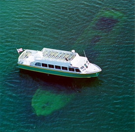 Shipwreck Tour, Glass Bottom Boat Tour & Lake Superior Wreck Dives