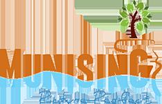 Munising Visitor's Bureau Logo