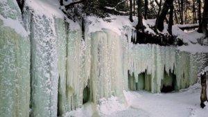 The Eben Ice Caves